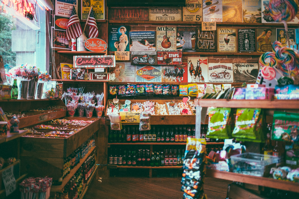 Rocket Fizz Candy Shop Nashville