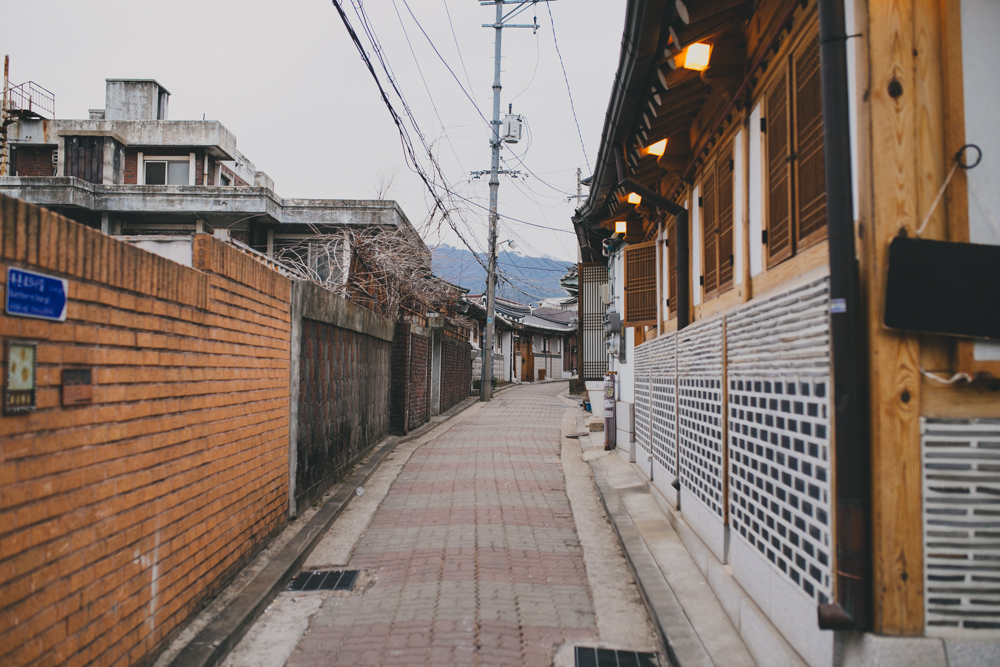 Bukchon Hanok Village Jongno-gu Seoul South Korea