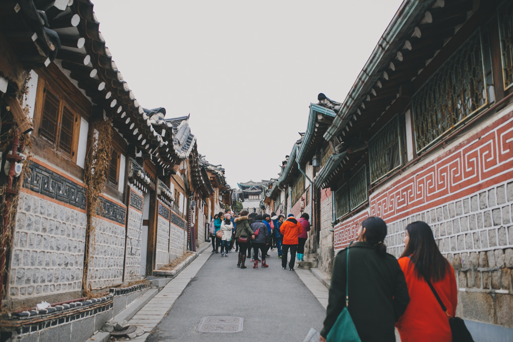 bukchon hanok village seoul south korea halfdazed